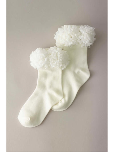 Girls Pompom Socks
