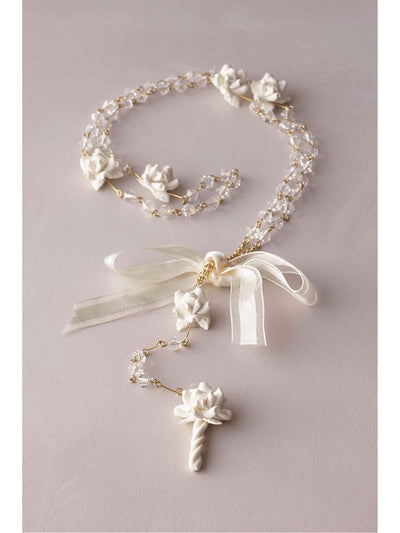 Girls Porcelain Rosary