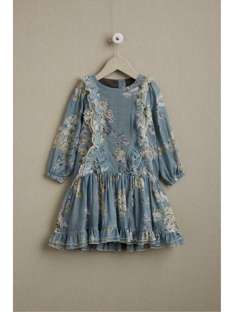 Girls Prairie Ruffles Dress