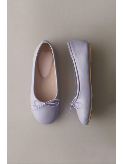 Girls Prima Leather Ballet Flats