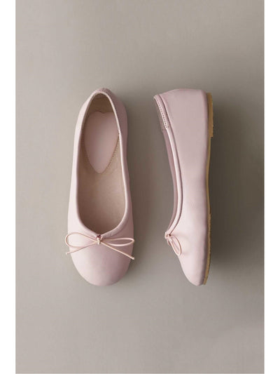Girls Prima Leather Ballet Flats  pin 1