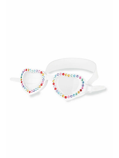 Girls Rainbow Heart Dream Goggles  whi 1