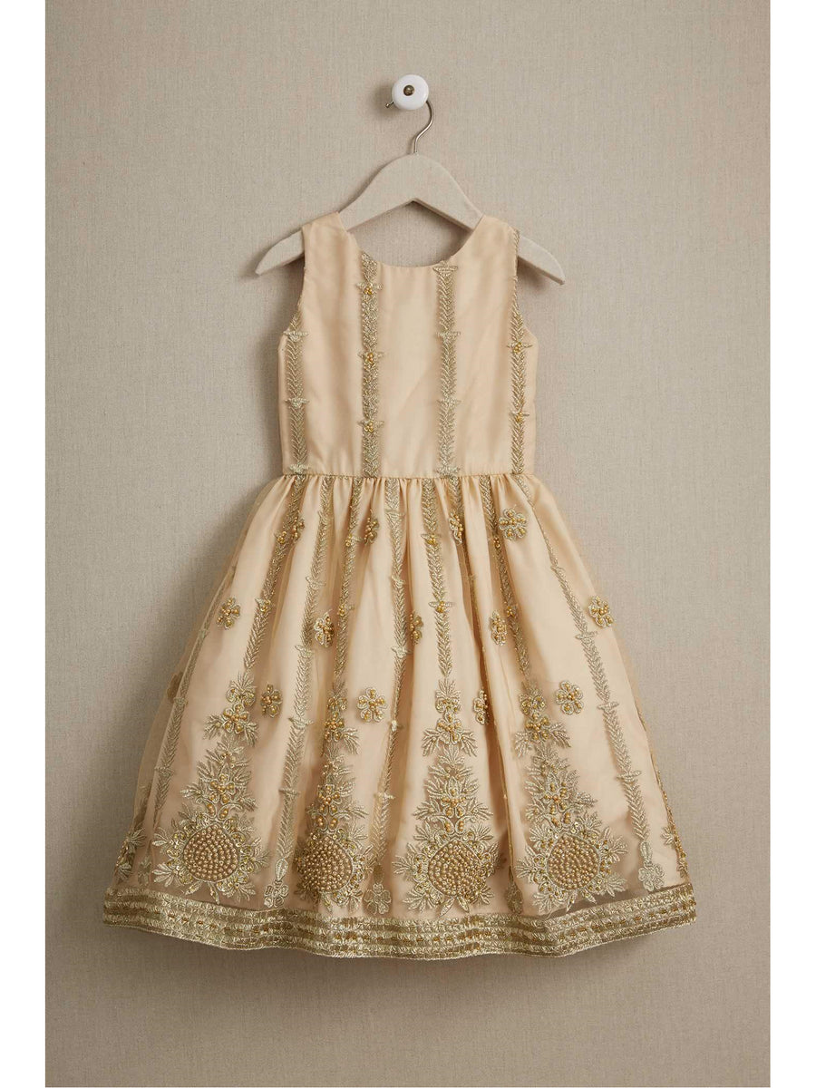 Girls Regal Beaded Dress