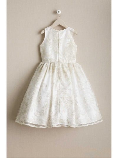 Girls Regal Embroidered Dress  ivo alt2