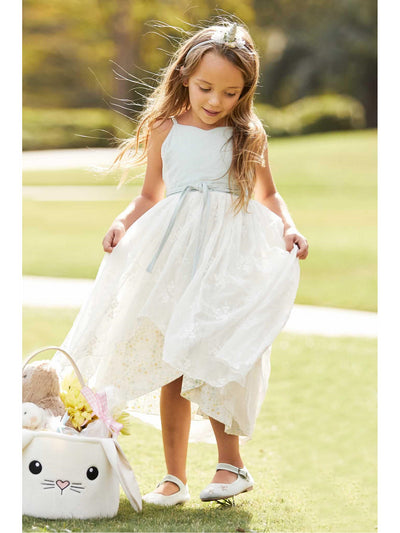 Girls Reversible Cottage Garden Dress  mnt alt1