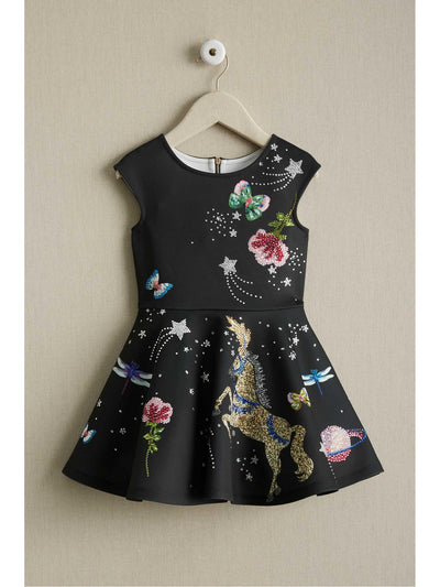 Girls Rhinestone Fantasy Dress