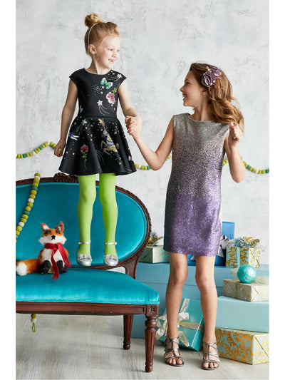 Girls Rhinestone Fantasy Dress  bla alt1