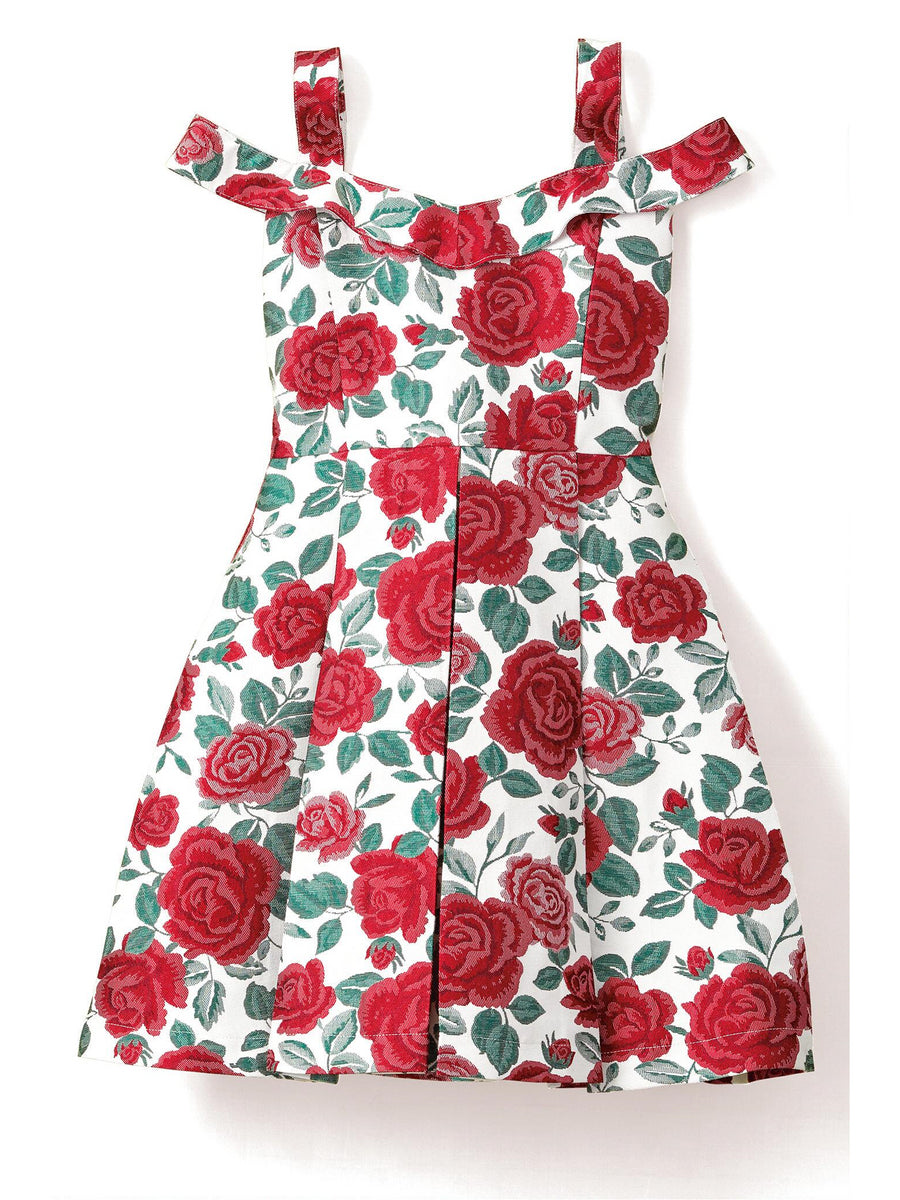 Girls Riot of Roses Dress