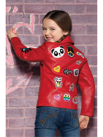 Girls Rock the Patches Jacket