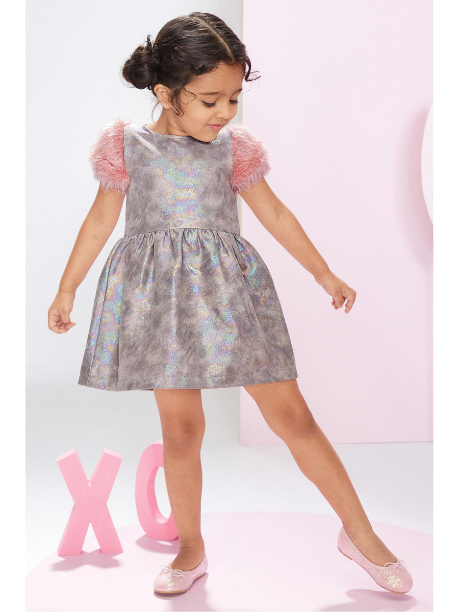Girls Rose Quartz Dress