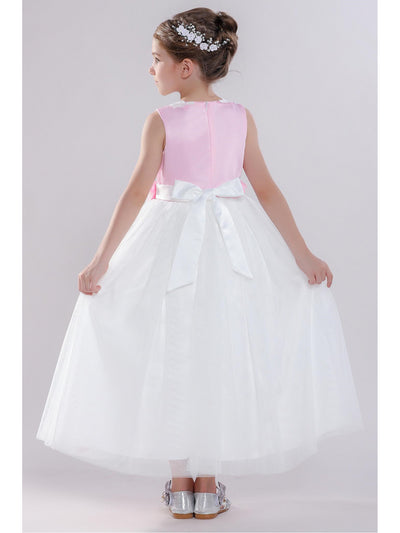 Girls Rosette Dress  whpk alt3