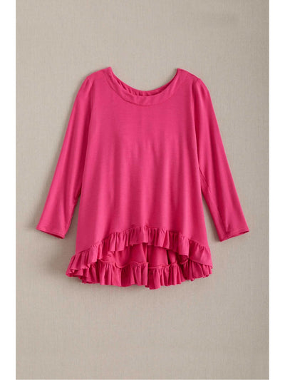 Girls Ruffle Hem Swing Tunic  hpi 1