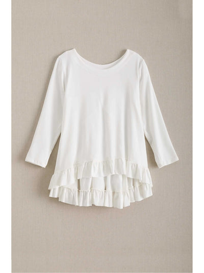 Girls Ruffle Hem Swing Tunic  ivo 1