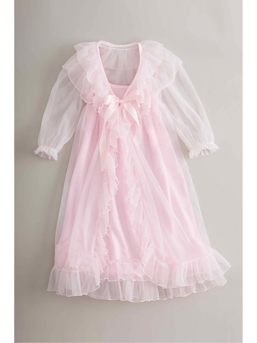 Girls Ruffle Nightgown Set