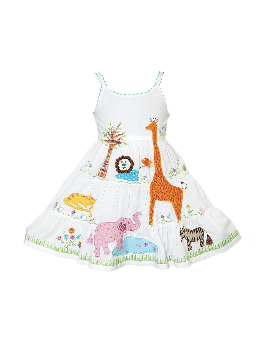Girls Safari Scene Dress