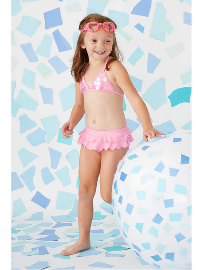 Girls Sequin Mermaid 2-Piece Swimsuit  pin alt1