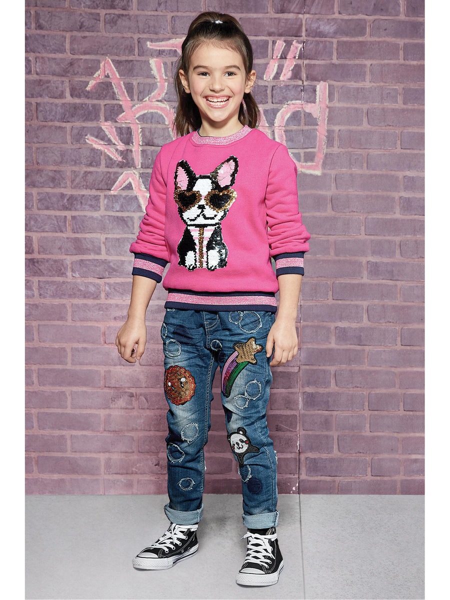 Girls Shooting Stars Jeans