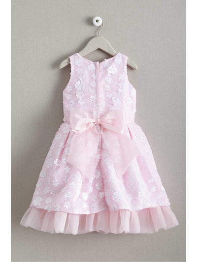 Girls Shower of Flowers Dress  lpi alt2
