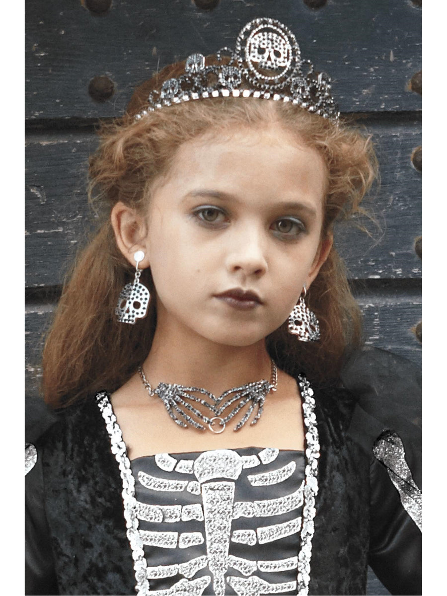 Girls Skeleton Tiara