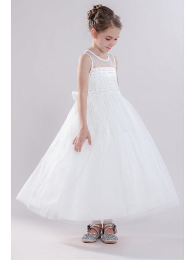 Girls Snowflake Dress