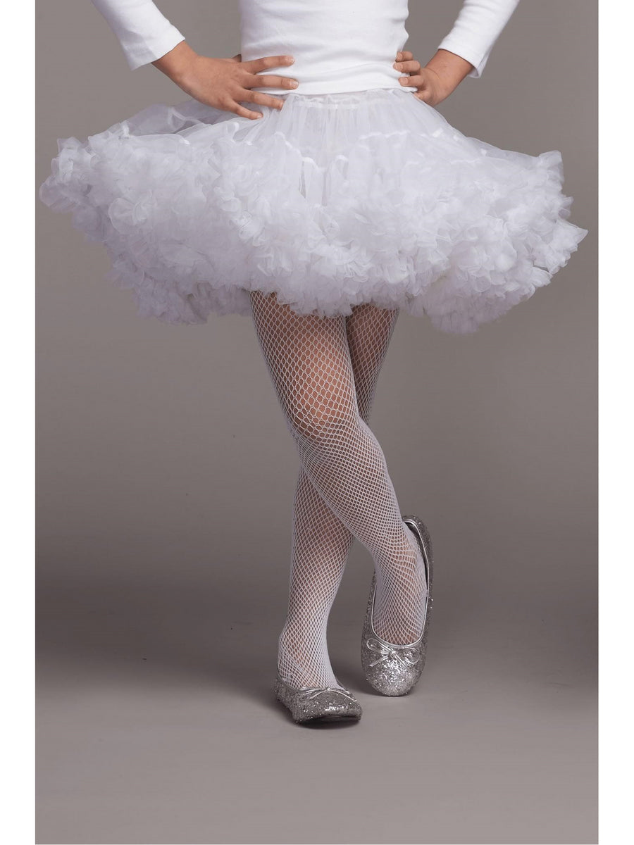 Girls Soft White Petticoat