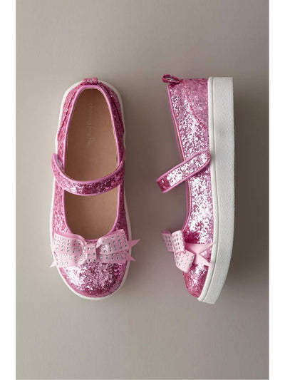 Girls Sparkle Sneaker Mary Janes  pin 1