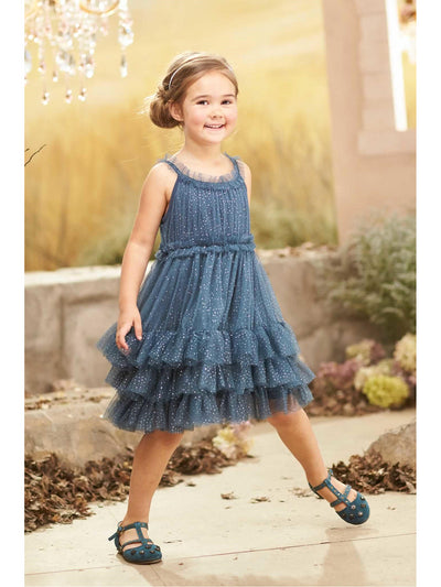 Girls Sparkle Stardust Dress  cha alt1