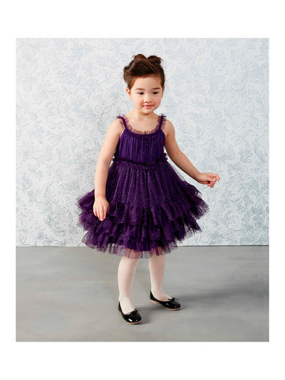 Girls Sparkle Stardust Dress  cha alt2