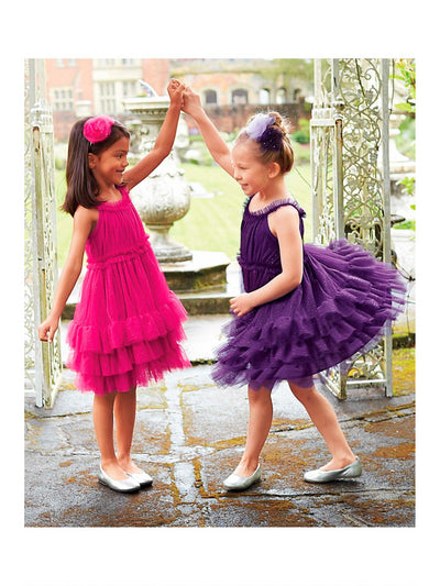 Girls Sparkle Stardust Dress  cha alt3