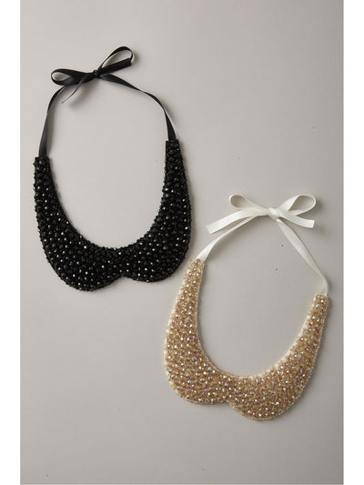 Girls Sparkling Beaded Collar