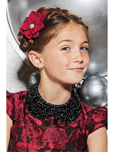 Girls Sparkling Beaded Collar  bla alt1