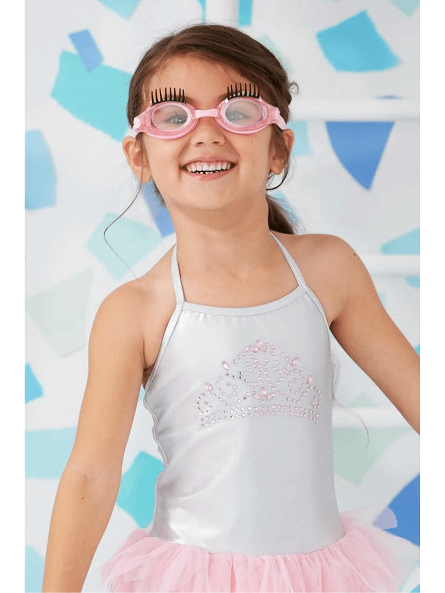 Girls Splash Lash Swim Goggles