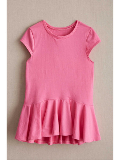 Girls Spring Ruffle Top  pin 1