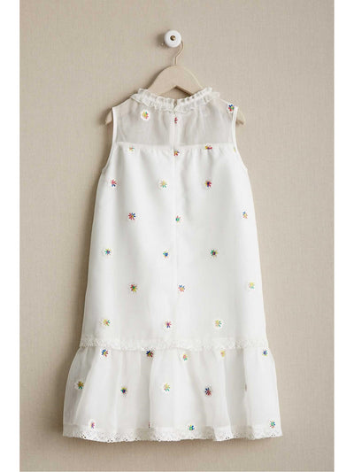 Girls Spring Swing Dress  whi alt2