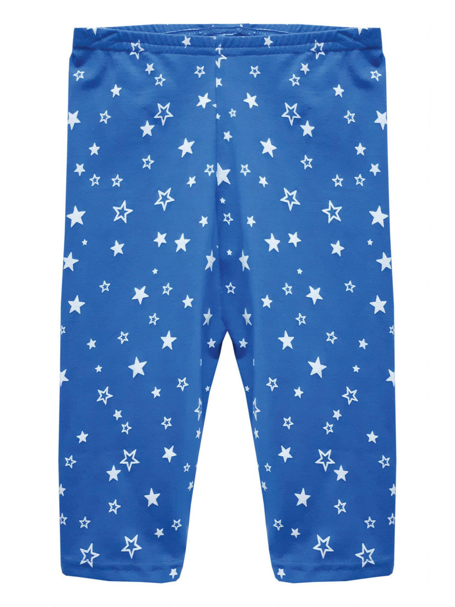 Girls Star Print Bike Shorts