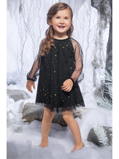 Girls Starry Night Tulle Dress