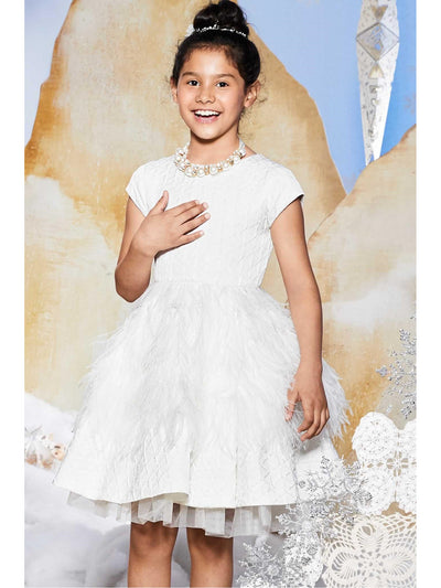 Girls Swan Dress  ivo alt1