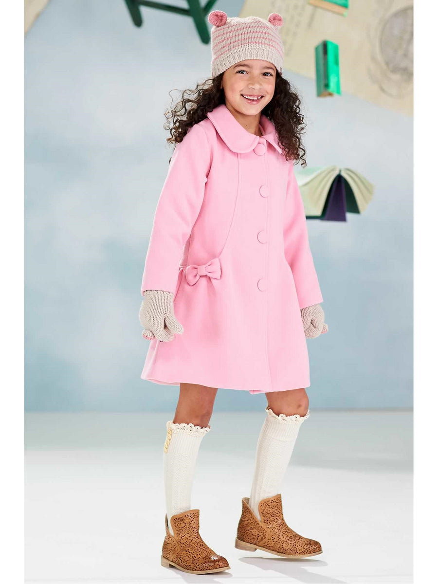 Girls Sweet Dress Coat