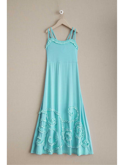 Girls Swirly Twirly Maxi Dress