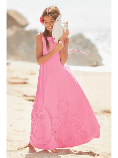 Girls Swirly Twirly Maxi Dress  lbl alt1