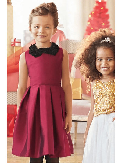 Girls Taffeta Party Dress  gre alt1