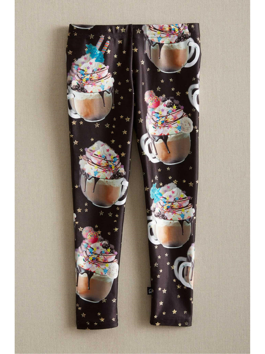 Girls Terez Unicorn Hot Chocolate Leggings