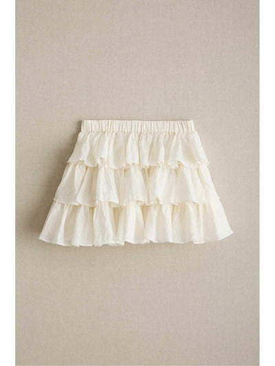 Girls Three Ruffle Skirt  ivo 1