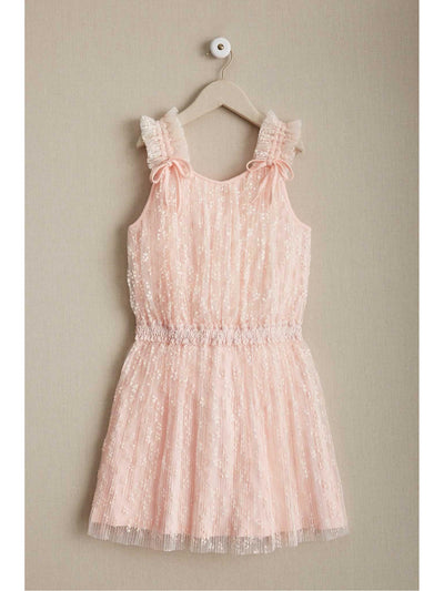 Girls Tickled Pink Dropwaist Dress
