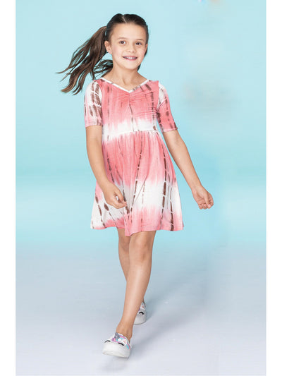 Girls Tie-Dye Dress
