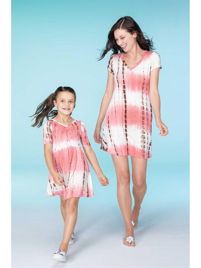 Girls Tie-Dye Dress  cor alt1