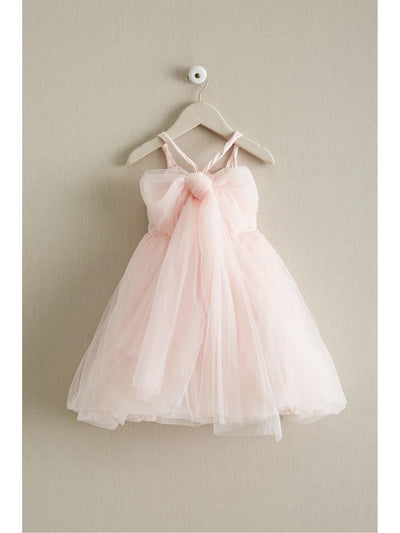Girls Tulle Tie-back Dress  lav alt2