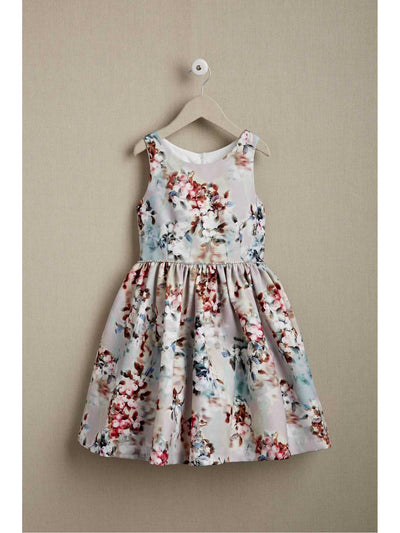 Girls Twilight Floral Dress  lpi alt1