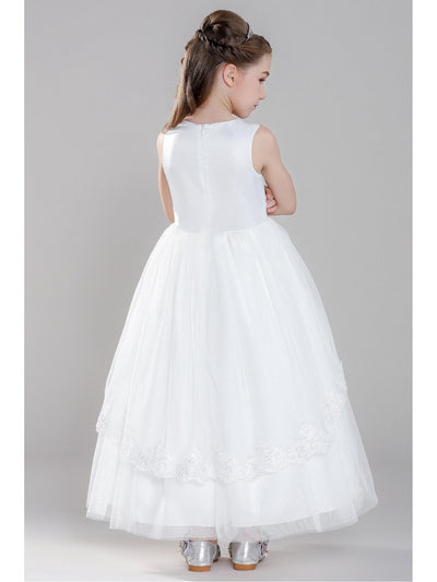 Girls Twirl Dress  white alt2