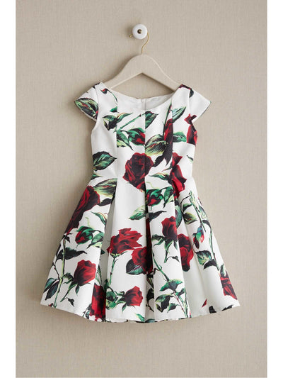 Girls Twirly Rose Dress